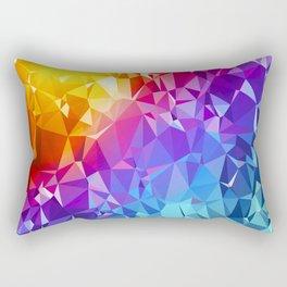 Rainbow Prism Rectangular Pillow