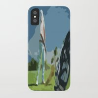 golf iPhone & iPod Cases featuring GOLF by aztosaha
