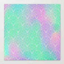 Pattern hologram Canvas Print
