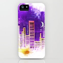 THE CITY THAT NEVER SLEEPS iPhone Case