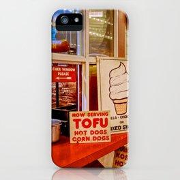Fresh Kosher Tofu Corn Dog -Shellshott iPhone Case