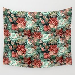 Succulent Succulents Wall Tapestry