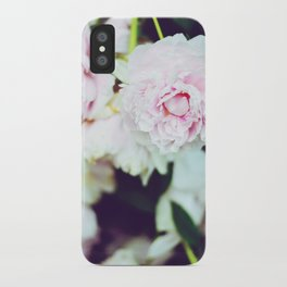 Peony Garden Splendor II iPhone Case