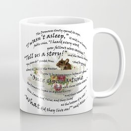 Dormouse from Alice in Wonderland Coffee Mug