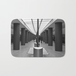 Tube Station Brandenburg Gate in Berlin Bath Mat