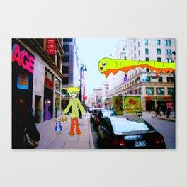Shopping Spree Canvas Print