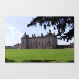 Houghton Hall, English Stately Home Canvas Print