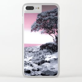 Hawaii Shores Clear iPhone Case