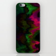 fuchsia drips iPhone & iPod Skin