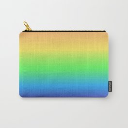 Digital Rainbow Gradient Carry-All Pouch