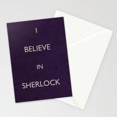 No. 4. I Believe In Sherlock Stationery Cards