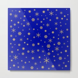 Merry Christmas pattern 2 Metal Print
