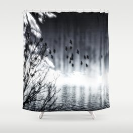 Herbstsee Shower Curtain