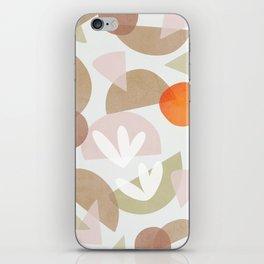 Minimal Autumnal Dance 1 iPhone Skin
