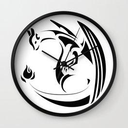 Charizard the Fire Lizard Wall Clock