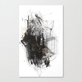 Unwelcome Gaze – Amazon 6 Canvas Print