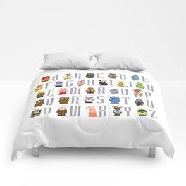 Pixel Muppet Show Alphabet Comforters