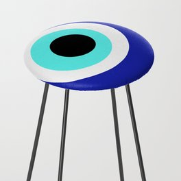 Blue Eye Counter Stool