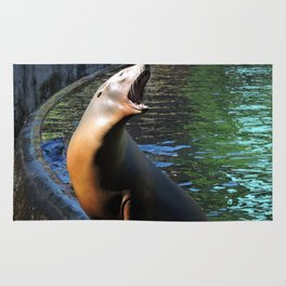 Sea Lion Song Rug