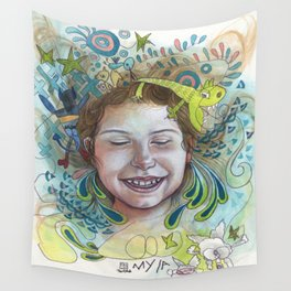 Giggle Wall Tapestry