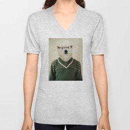 Spencer Bear Unisex V-Neck