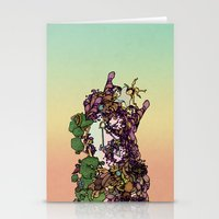 cycle Stationery Cards featuring Cycle by Anders Teigene