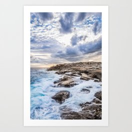 Crashing Waves At Prospect, Nova Scotia #3 Art Print