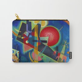 Wassily Kandinsky, New colors Carry-All Pouch