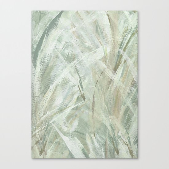 abstract brush-soothe the mood Canvas Print