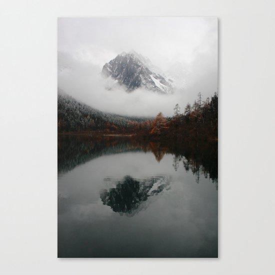 Beautiful Mountain # reflection Canvas Print