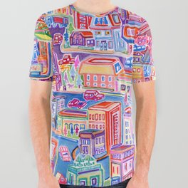 Big City Feeling All Over Graphic Tee