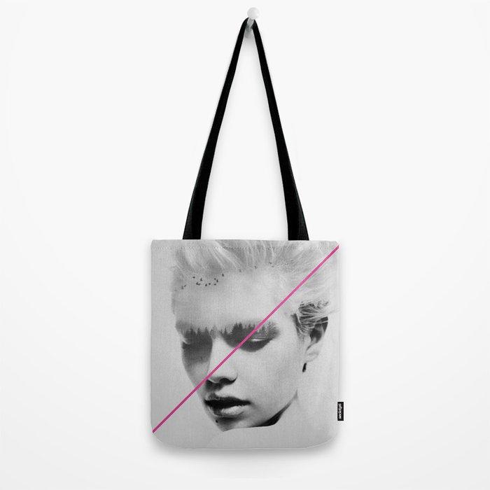 PiNk STripe to ART Tote Bag