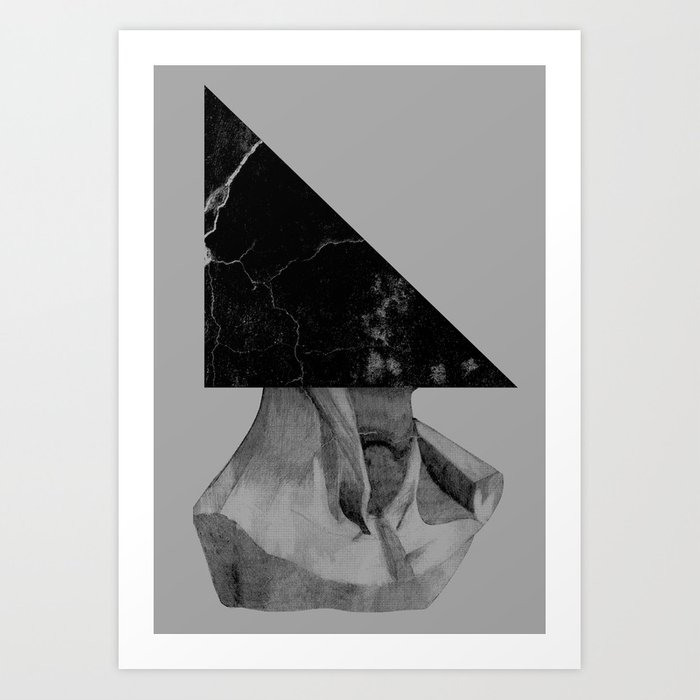 A Triangle Art Print