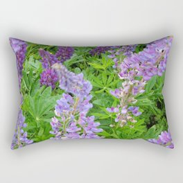 Lupins Rectangular Pillow