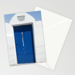 Cyprus Mediterranean Door - Landscape Photography Stationery Cards