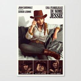 Una Fuorilegge di nome Jessie Canvas Print