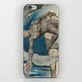 William Blake - Antaeus Setting Down Dante And Virgil In The Last Circle Of Hell iPhone Skin