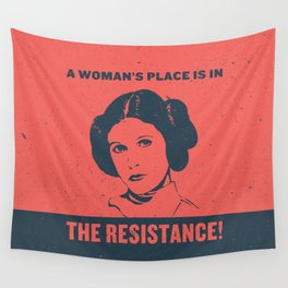 A Woman's Place Wall Tapestry