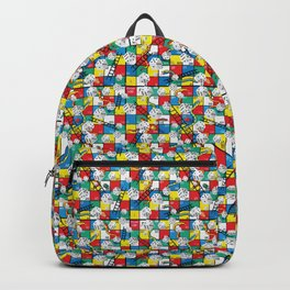 Snake and Ladders Game Pieces Backpack