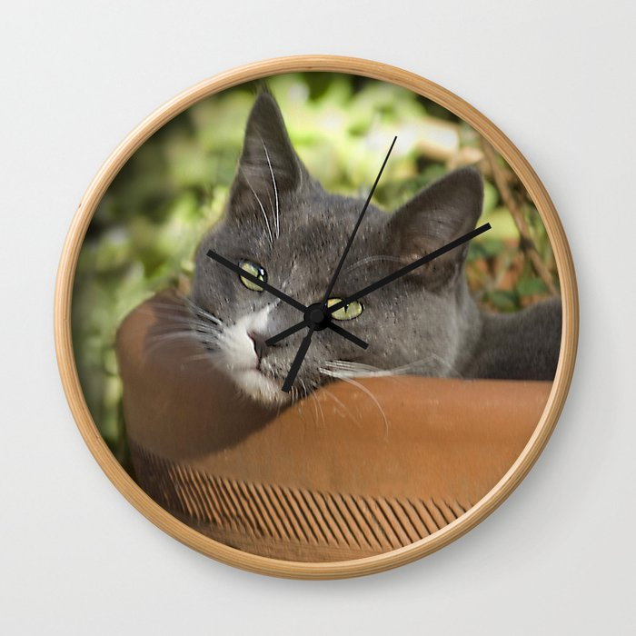 Here's Looking at YOU, Kid! Wall Clock