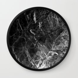 Ombre Marble Wall Clock
