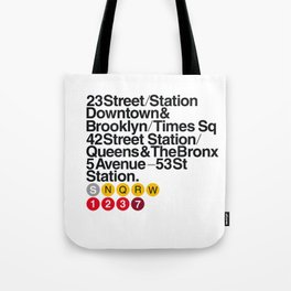 Nº5. Helvetica Posters by empatía® Tote Bag