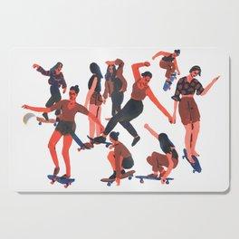 Skaters Cutting Board