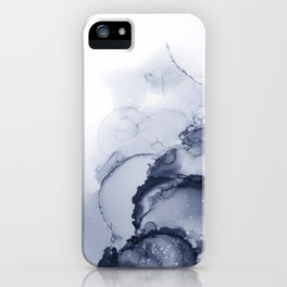 BLUE INK 88 iPhone Case