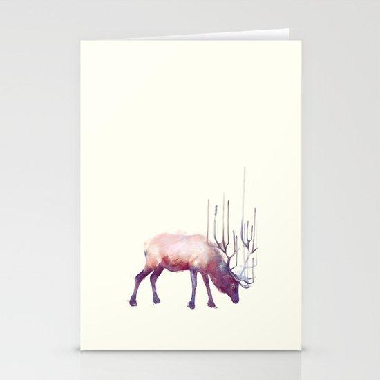 Elk // Solitude Stationery Cards