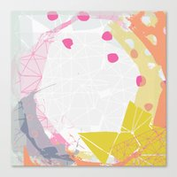 atlas Canvas Prints featuring Atlas by lizzy gray kitchens