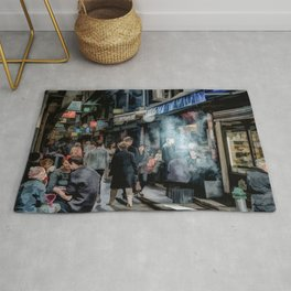 Deckard's Lane (painted) Rug