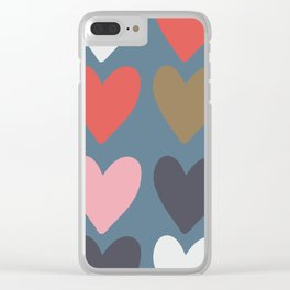 Deep from my heart Clear iPhone Case