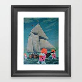 Beaker Bay Framed Art Print