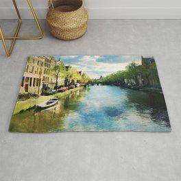 Amsterdam Waterways Rug